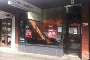 Glenferrie road commercial shop